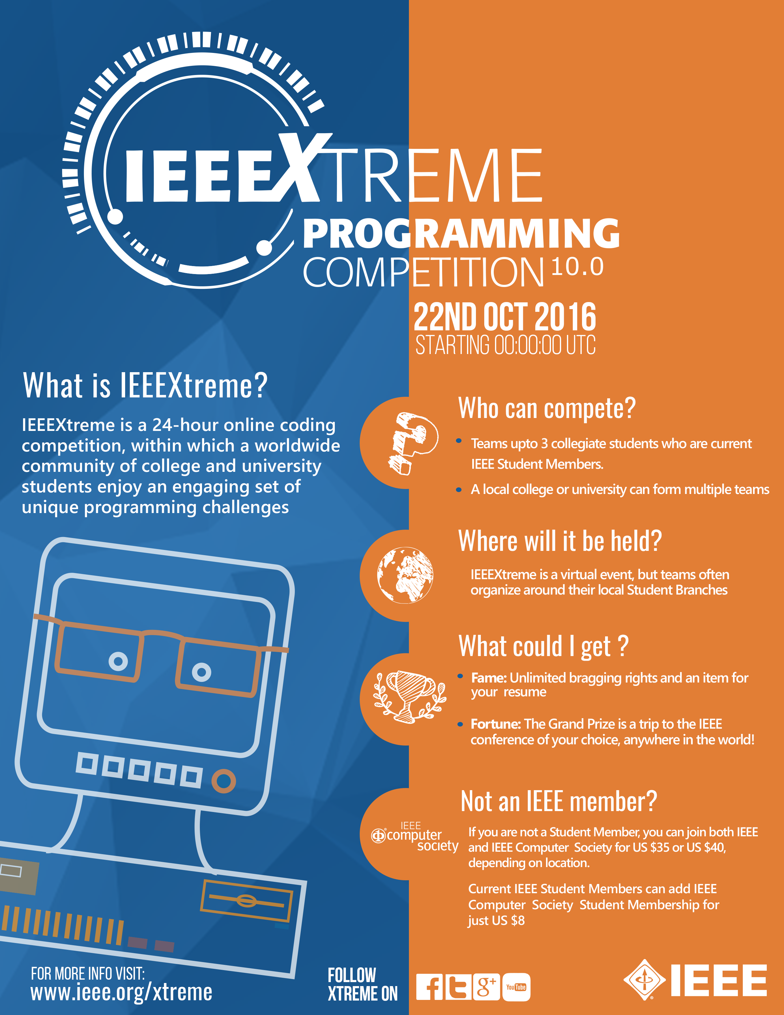 IEEE XTreme 2016